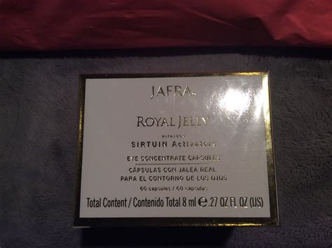 Jafra Royal Jelly Lift Concentrate 1 Vial 7 Ml royal jelly complex by jafra gels and creams