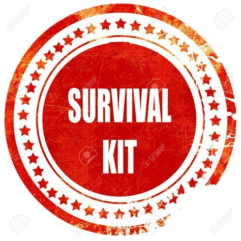 Lu Emergency Surya survival kit clipart