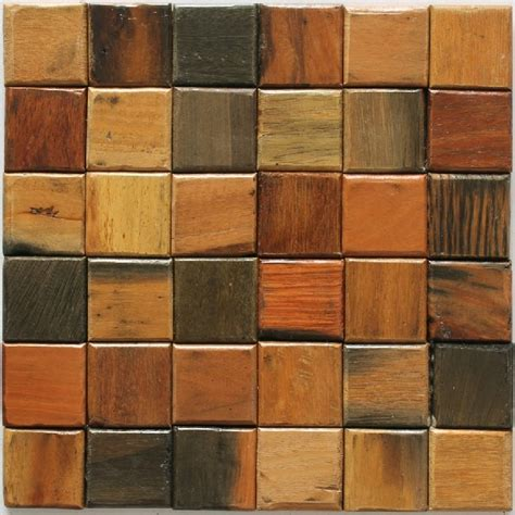 rustic backsplash tile wood mosaic tile rustic wood wall tiles backsplash nwmt