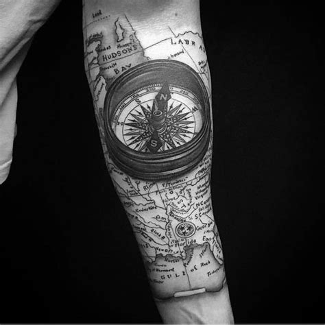compass gang tattoo compass tattoo meanings nautical designs ideas 2018