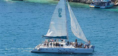 catamaran sail and snorkel bahamas bahamas seahorse sail and snorkel adventure