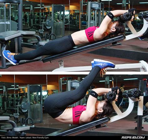 incline bench reverse crunches incline reverse crunch reps indonesia fitness