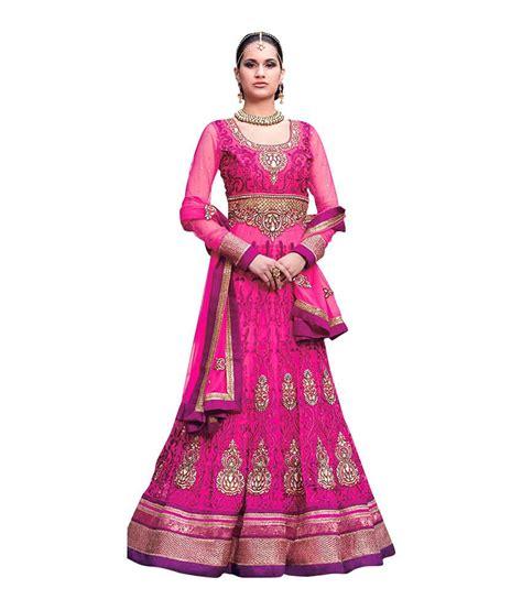 Top Kimora Pink kimora pink net unstitched dress material buy kimora pink net unstitched dress material