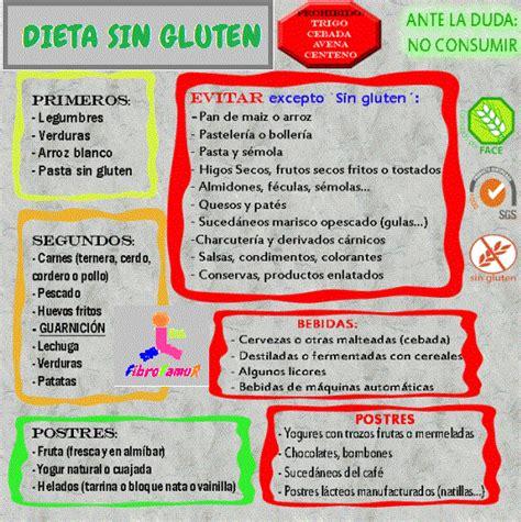 lista alimentos para celiacos fibrofamur asociaci 211 n de fibromialgia de murcia