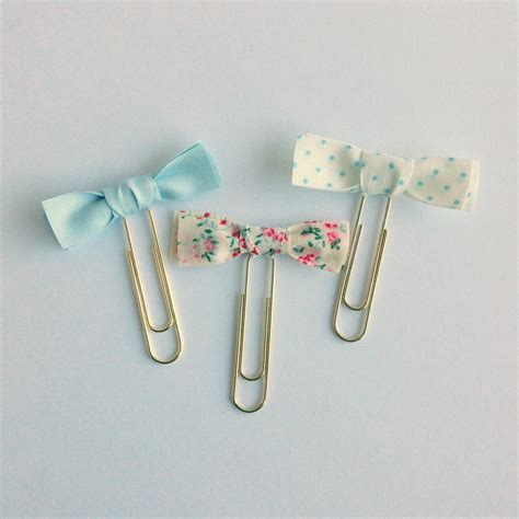 How To Make A Paper Clip Bow And Arrow - my fabric bow paperclips