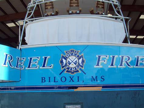 reel fire boat emerald coast yacht refinishing panama city destin