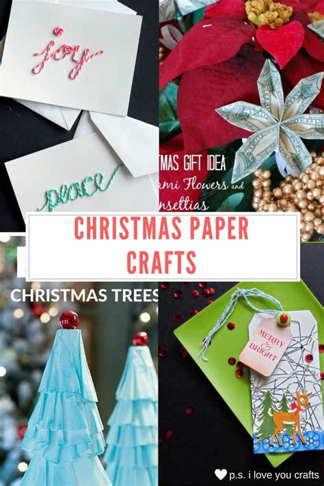 christmas love family crafts paper crafts p s i you crafts