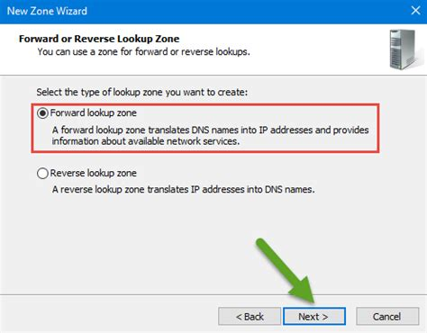 Forward Lookup Configure Dns Server Zones Fully On Windows Server 2016 Tactig