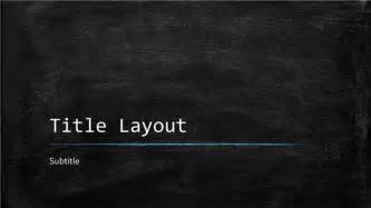 chalkboard powerpoint template out of darkness