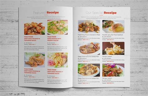 indesign recipe template food recipes brochure catalog indesign v 2 by jbn comilla