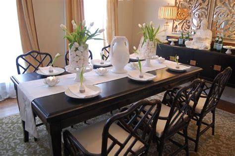 Setting Dining Room Table Easter Table Setting Ideas Asian Dining Room Benjamin Grant Beige