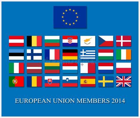 european union members european union 2014 royalty free stock image image 36672986