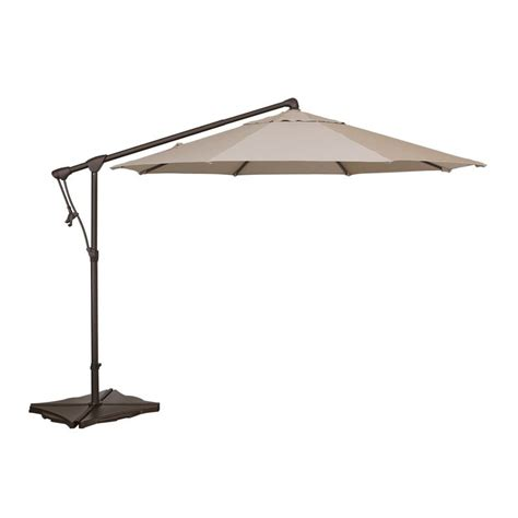 10 Ft Offset Patio Umbrella Treasure Garden 10 Ft Cantilever Octagon Offset Patio Umbrella Www