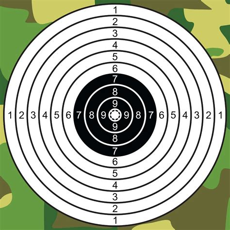 Template Of A Target Search Results Calendar 2015 Shooting Target Template