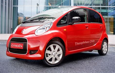 Citroen Electric Car by Nikkei Mitsubishi To Supply 10 000 Electric Cars A Year