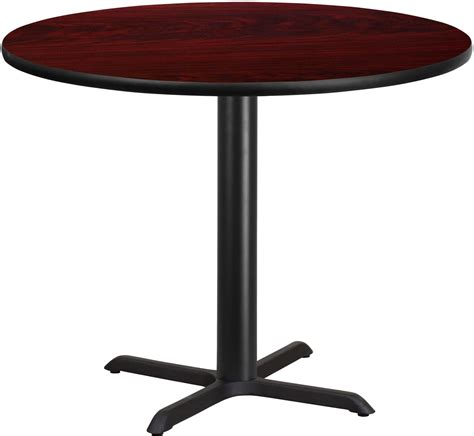 42 table top 42 quot mahogany laminate table top with 33 quot table height