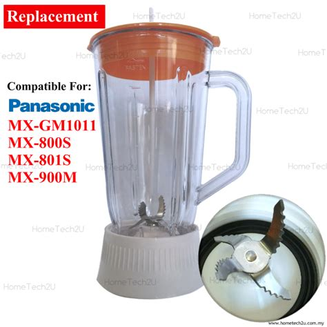 Blender Panasonic Mx Gx1011 panasonic blender jug oem replament for mx 900m mx 800s mx