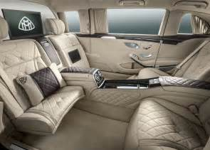 Genesis Auto Upholstery Mercedes Maybach S Class Pullman Revealed Gaadi Com