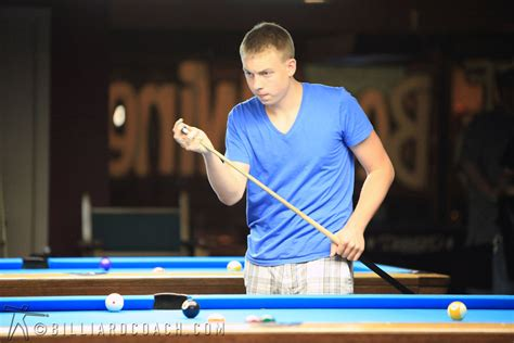 professional player photos billiard coach mike fieldhammer