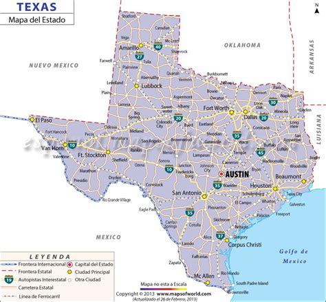 map de texas mapa de texas world of map