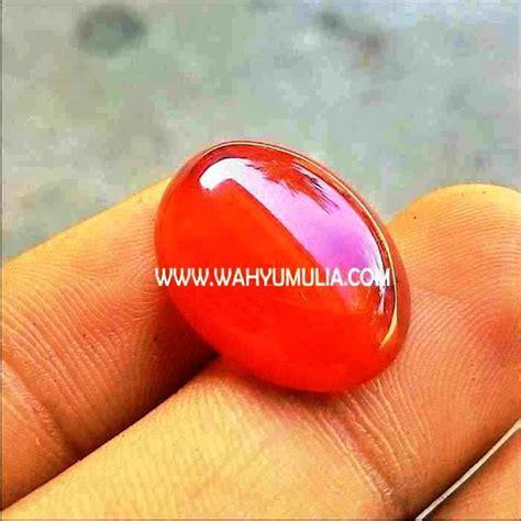 Batu Akik Yaman 3 batu akik yaman merah kode 297 wahyu mulia
