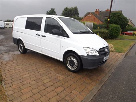 2012 mercedes vito 113 cdi blueefficieny 6 seater