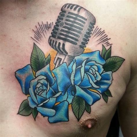 microphone tattoo cover up tattoos cover up roses and tattoos and body art on pinterest