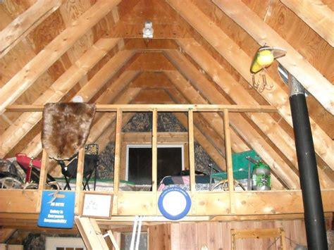 hunting cabin wloft  decks small cabin forum