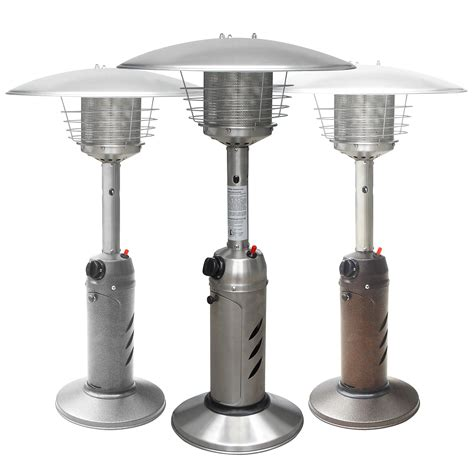 Patio Heaters Tabletop Tabletop Outdoor Patio Heater Garden Commercial Restaurant Deck Propane Lp Gas Ebay