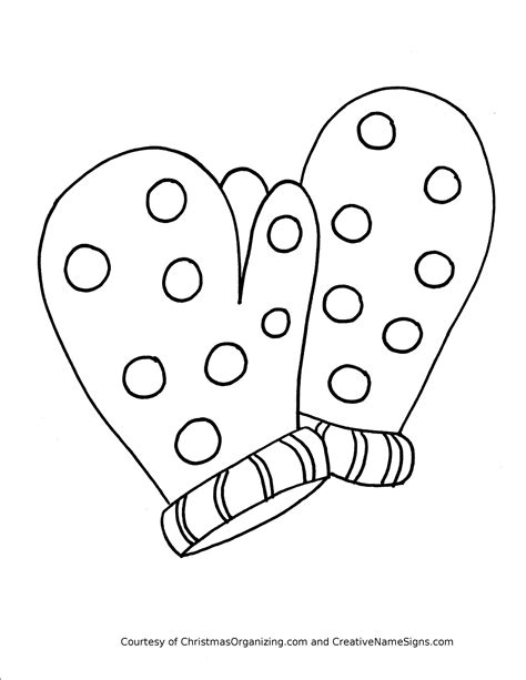 mitten coloring page winter clothes coloring pages crafts and worksheets for