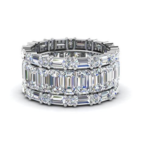 Wedding Bands Baguette Diamonds by Best 25 Baguette Wedding Bands Ideas On