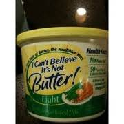 i cant believe its not butter light nutrition facts i can t believe it s not butter light calories