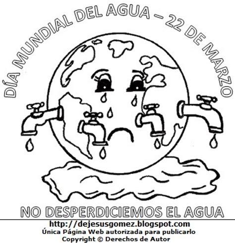 dibujos para colorear sobre agua dibujos fotos acrostico y mas dibujos por el dia mundial