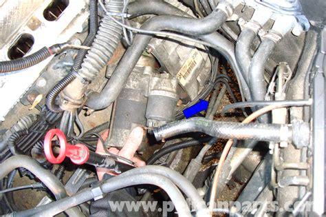 motor repair manual 1997 bmw 3 series spare parts catalogs bmw e39 5 series starter replacement 1997 2003 525i 528i 530i 540i pelican parts diy