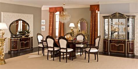 Mahogany Dining Room Set luxor dining room set in mahogany lacquer finish by