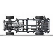 Ladder Frame Chassis All Wheel Drive AWD V6 Engine Automatic
