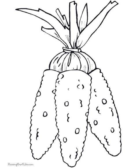 free coloring pages of corn on the cob template