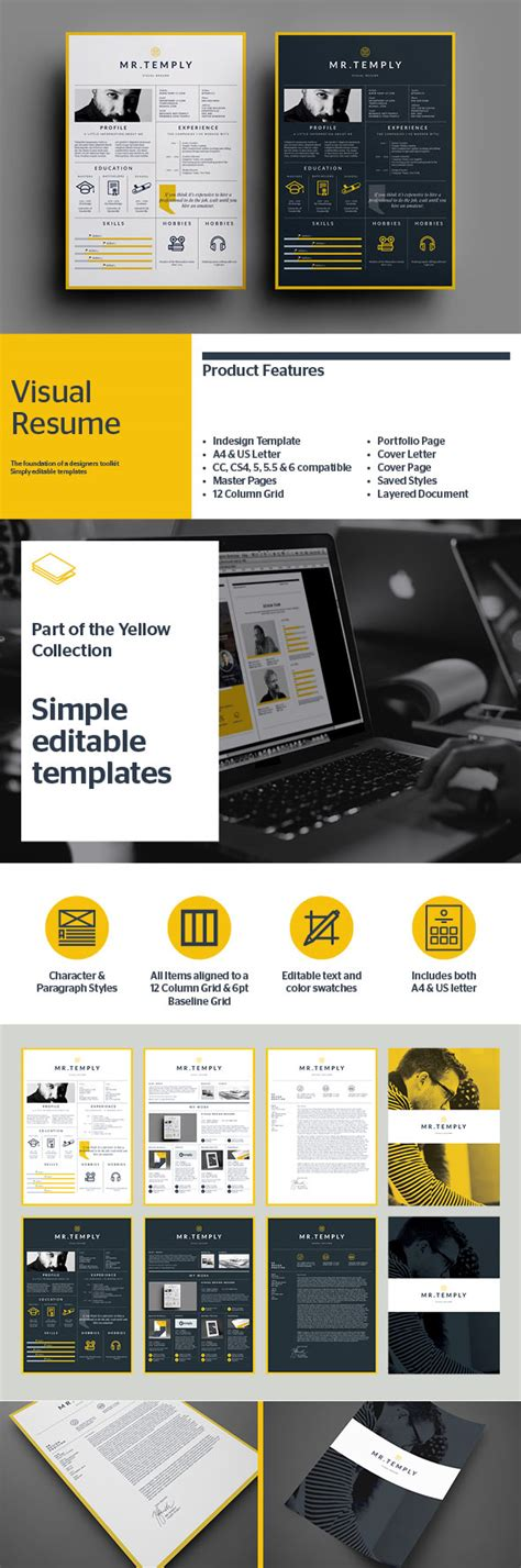visual resume templates 25 creative resume templates to land a new in style