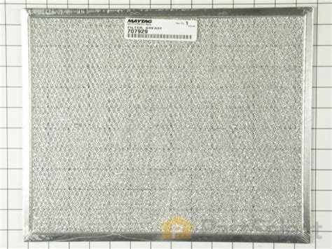 whirlpool 707929 grease filter partselect