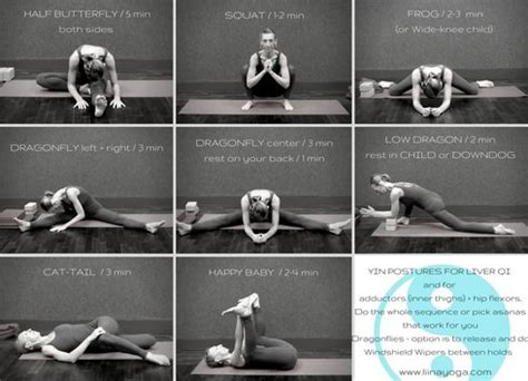 Liver Detox Poses by Yin Postures For Dandk
