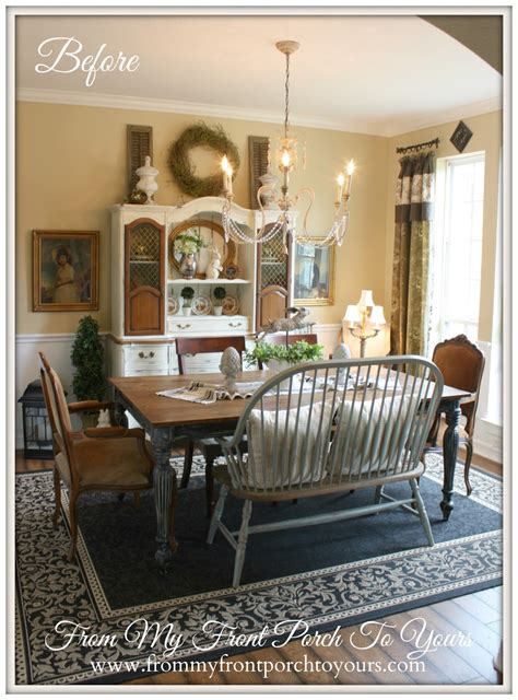Farmhouse Dining Room From My Front Porch To Yours Farmhouse Dining Room Reveal