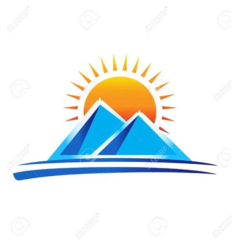 clipart montagna mountain cliparts