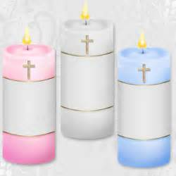 baptism candle template baby christening candle clipart