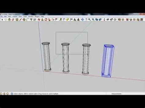 sketchup tutorial array copy array in sketchup part 1 doovi