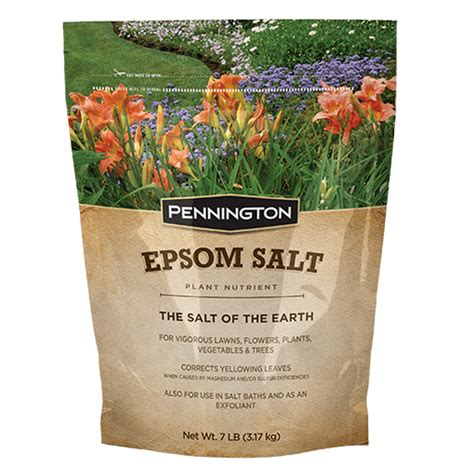 Epsom Salt In Garden by Epsom Salt Plant Fertilizer Pennington