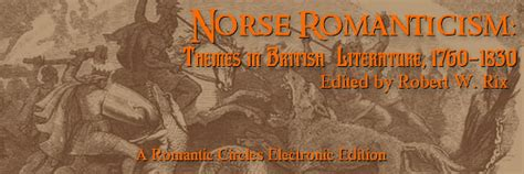themes romanticism literature new rc editions norse romanticism themes in british