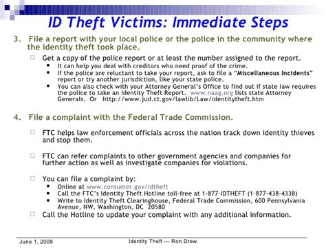 Sle Letter Credit Bureau Identity Theft Rdrew Identity Theft What To Do