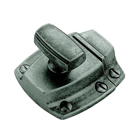 shop amerock gray cabinet latch at lowes