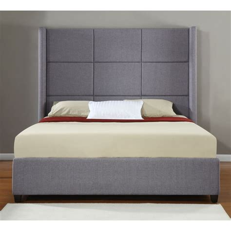 upholstered beds king size jillian upholstered king size bed