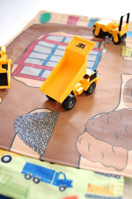 construction play rug done is better than construction site portable play mat